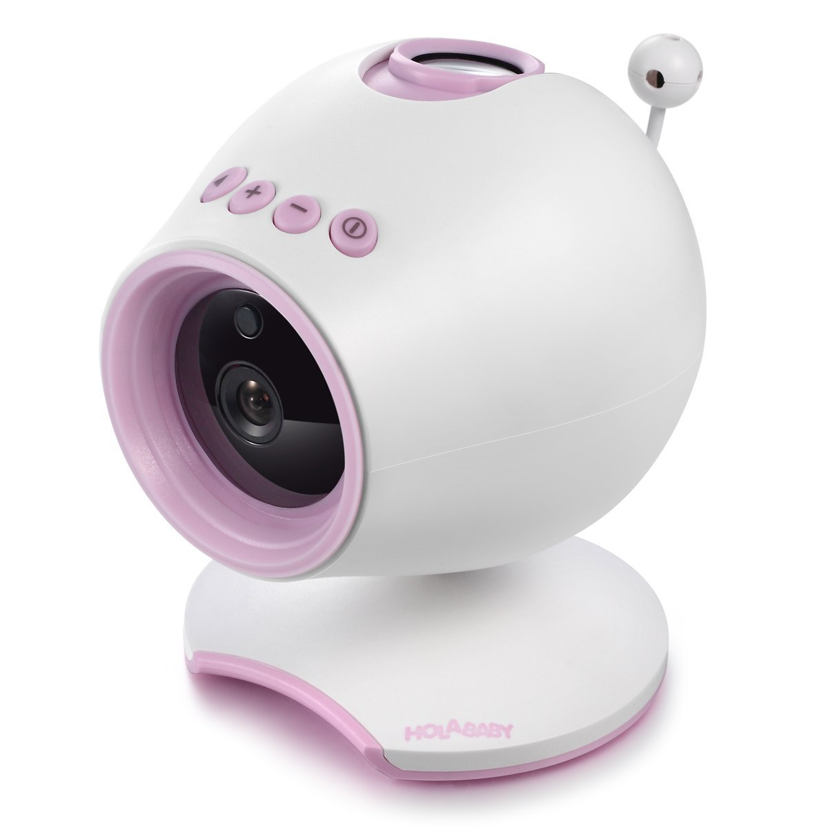 Holababy P1 HD Video Baby Monitor Soothing Camera(Pink)